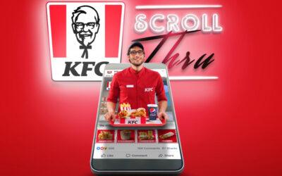 スクロール広告でオンラインオーダー完了。デジタル世代へアプローチを行うKFC中東